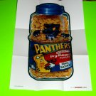 2012 WACKY PACKAGES 1ST SERIES POSTERS **PANTHERS** POSTER #13