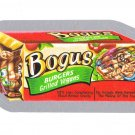 2013 WACKY PACKAGES ALL NEW SERIES10 (ANS10) SILVER CARD **BOGUS BURGERS* #34 NM