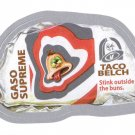 2013 WACKY PACKAGES ALL NEW SERIES10 (ANS10) SILVER CARD **TACO BELCH** #4 NM