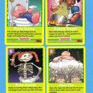 2005 GARBAGE PAIL KIDS ANS4 LOT OF FOUR TRADING CARDS GAME LOT A