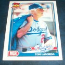 Topps 40 YEARS OF BASEBALL **TOM LASORDA** BASEBALL CARD