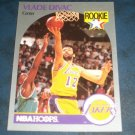 1990 NBA PROPERTIES INC.NBA HOOPS **VLADE DIVAC ** BASKETBALL ROOKIE CARD