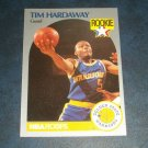 1990 NBA PROPERTIES INC.NBA HOOPS **TIM HARDAWAY ** BASKETBALL ROOKIE CARD