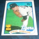 Topps 1989 ALL STAR ROOKIE **PAUL GIBSON** BASEBALL CARD
