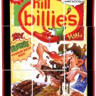 "2013 WACKY PACKAGES ANS11 ""HILL BILLIES"" (CHILI'S) COMPLETE PUZZLE 9/9"