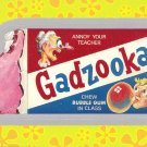 "WACKY PACKAGES FLASHBACK1 SILVER BORDER """"GADZOOKA"""" #22  NM"