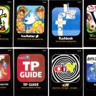 2012 WACKY PACKAGES ANS9 **AWFUL APPS** COMPLETE SET 10/10 + WRAPPER!!  NM/MINT