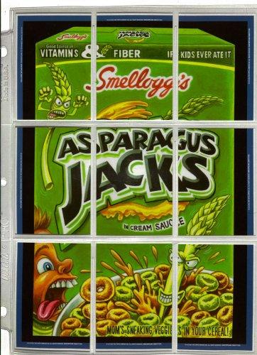 "WACKY PACKAGES ANS9 ""ASPARAGUS JACKS"" PUZZLE + MORE!"