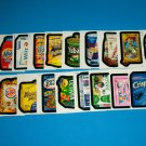 WACKY PACKAGES COMPLETE SET OF WACK~O~MERCIALS + MORE!!