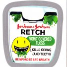 2013 WACKY PACKAGES ANS11 SILVER CARD **RETCH** #42 NEW SERIES
