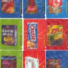 "WACKY PACKAGES 2012 ANS9 ""MOTION TAG"" SET 9/9 NICE!!"