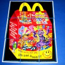 "2013 WACKY PACKAGES ANS10 ""HIPPY MEAL"" COMPLETE PUZZLE 9/9"