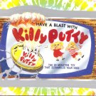 "WACKY PACKAGES FLASHBACK1 SILVER BORDER """"KILLY PUTTY"""" #47  NM"