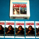 1993 NATIONAL LAMPOON LOT OF 5 BRAND NEW PACKS