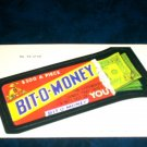 1979 WACKY PACKAGES 1ST SERIES **BIT-O-MONEY** #55