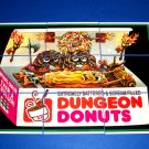 "2013 WACKY PACKAGES ANS10 ""DUNGEON DONUTS"" COMPLETE PUZZLE 9/9"