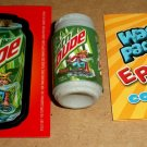 "WACKY PACKAGES 1ST SERIES ""MTN.DUDE"" ERASER #21 + MATCHING STICKER & CHECKLIST!!"