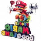"2013 WACKY PACKAGES ANS10 ""MARIO DOO-DLAND TATTOO #7"