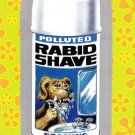 """WACKY PACKAGES FLASHBACK1 SILVER BORDER """"""""RABID SHAVE"""""""" #15  NM"""