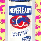 "WACKY PACKAGES FLASHBACK1 SILVER BORDER """"NEVEREADY"""" #20  NM"