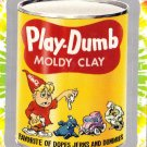 "WACKY PACKAGES FLASHBACK1 SILVER BORDER """"PLAY-DUMB"""" #40  NM"