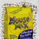 2010 WACKY PACKAGES ANS7 SILVER FLASH FOIL **MOUSE~MIX** #3 NM