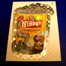 2012 WACKY PACKAGES ANS9 SILVER FLASH FOIL **WINDY'S** #22 NM
