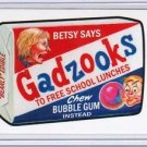 "2017 WACKY PACKAGES/GPK TRUMPOCRACY 1ST 100 DAYS ""GADZOOKS"" LIMITED EDITION"