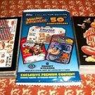 2017 WACKY PACKAGES 50TH ANNIVERSARY COMPLETE 90-STICKER BASE SET + WRAPPER