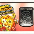 "2017 Wacky Packages 50th Anniversary RED MEDALLION ""DEL MONSTER"" 09/10 RARE!!"