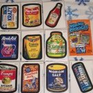 "2012 WACKY PACKAGES ALL NEW SERIES 9 {ANS9} COMPLETE ""MAGNET"" SET 10/10"