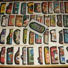 WACKY PACKAGES 1991 SERIES 55 STICKER SET WITH BARF'S ROTBEER + WRAPPER