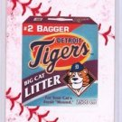 "2016 WACKY PACKAGES BASEBALL SERIES1 LACE BORDER ""DETROIT TIGERS CAT LITTER"" #53"