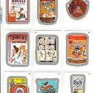 "2016 WACKY PACKAGES BASEBALL SERIES 1 SILVER BORDER ""PICK A SINGLE"" ONLY $1.99"
