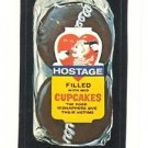 "1986 WACKY PACKAGES ALBUM SERIES STICKER ""HOSTAGE CUPCAKES"" #58 ONLY 99 CENTS"