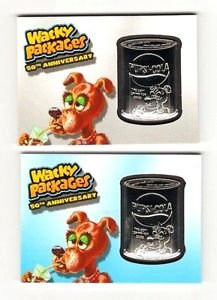 """2017 Wacky Packages 50th Anniversary MEDALLION """"PUPSI~COLA"""" YOU GET BOTH VARIANT"""
