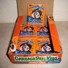 "1987 Vintage Garbage Pail Kids 9TH SERIES ""PACK"" GUM MADE IN CANADA ""RARE"""