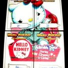 2017 Topps Wacky Packages 50th Anniversary COLOR PUZZLE SKETCH 4 CARD 1/1