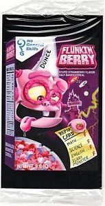 """2017 Wacky Packages 50th Anniversary OVERSIZE ART CARD """"FLUCKIN'BERRY CEREAL"""" #5"""