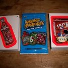 "2011 WACKY PACKAGES ALL NEW SERIES 8 {ANS8} COMPLETE ""PINK BORDER"" SET 55/55"