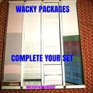 2004-2016 Wacky Packages Ans1 thru 2016 Baseball Series & More-You Pick Singles-