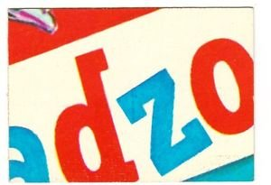"1973 WACKY PACKAGES ORIGINAL 1st SERIES ""GADZOOKA"" PUZZLE PIECE W/CHECKLIST MC"