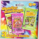 WACKY PACKAGES/GARBAGE PAIL KIDS PACKAGE OF THREE DIFFERENT SEALED PACKS. RARE!