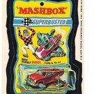 "1975 WACKY PACKAGES ORIGINAL 15TH SERIES ""MASHBOX"" STICKER CARD NM-"