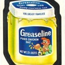 "1974 WACKY PACKAGES ORIGINAL 10TH SERIES ""GREASELINE"" STICKER CARD"