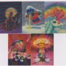 2010 GARBAGE PAIL KIDS FLASHBACK SERIES 2 {FB2} Complete 3-D Loco-Motion Set