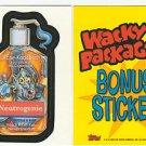 2006 WACKY PACKAGES ALL NEW SERIES 4 (ANS4) **NEUTROGENIE** BONUS STICKER B2