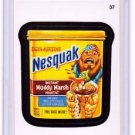 "2015 WACKY PACKAGES SERIES 1 ""NESQUAK"" #37 STICKER! NM"