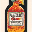 "1974 WACKY PACKAGES WONDER BREAD 2nd SERIES ""BLISTERINE"" STICKER NM"