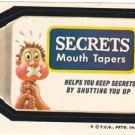"1974 WACKY PACKAGES WONDER BREAD 2nd SERIES ""SECRETS"" STICKER"